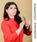 professional eyelash extension... | Shutterstock . vector #1351459076
