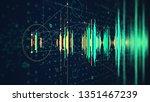 hi tech digital technology... | Shutterstock . vector #1351467239