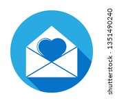 heart in an envelope icon....