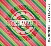 non flammable christmas colors... | Shutterstock .eps vector #1351514276