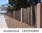 Wooden Fence In Santa Fe  New...
