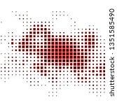 dark red vector pattern in...   Shutterstock .eps vector #1351585490