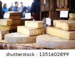 Variety Of Organic Cheeses...