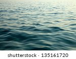 Waving Water Surface Of The Sea