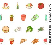 food images. background for... | Shutterstock .eps vector #1351646270