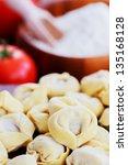 Постер, плакат: Tortellini italian cuisine