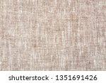 texture of natural linen fabric | Shutterstock . vector #1351691426
