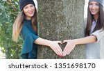 save forests trees and stop... | Shutterstock . vector #1351698170