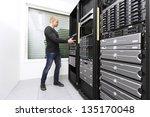 it engineer   consultant...   Shutterstock . vector #135170048