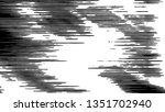 black and white grunge pattern... | Shutterstock . vector #1351702940