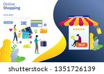 online shopping and business...