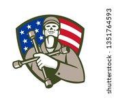 illustration of a mechanic... | Shutterstock .eps vector #1351764593