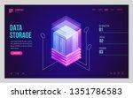 design website or landing page...   Shutterstock .eps vector #1351786583