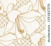 seamless pattern with a natural ...   Shutterstock .eps vector #1351837370