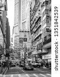 tsim sha tsui  hong kong   07... | Shutterstock . vector #1351842539