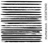 set of grunge textures. vector... | Shutterstock .eps vector #1351876040