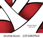 colorful cover design | Shutterstock . vector #1351883963