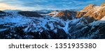 aerial  panoramic view on... | Shutterstock . vector #1351935380