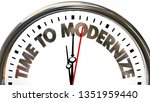 time to modernize update new...   Shutterstock . vector #1351959440