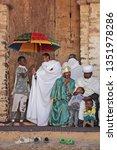 gondar  ethiopia   march 3 ... | Shutterstock . vector #1351978286