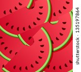 background from watermelon.