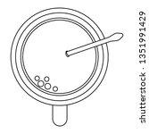coffee mug cartoon | Shutterstock .eps vector #1351991429