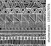 seamless ethnic pattern....   Shutterstock .eps vector #1352017076