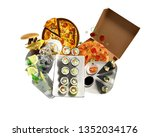 concept of product categories... | Shutterstock . vector #1352034176