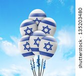 israel | Shutterstock . vector #135203480