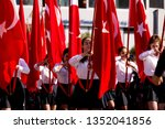 izmir  turkey   october 29 ... | Shutterstock . vector #1352041856