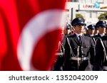 izmir  turkey   october 29 ... | Shutterstock . vector #1352042009