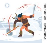 blood and sand  the battle of... | Shutterstock .eps vector #1352050103