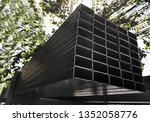 steel pipe available in... | Shutterstock . vector #1352058776