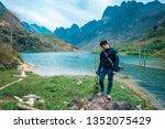 ha giang  vietnam   feb 23 ...   Shutterstock . vector #1352075429