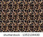 seamless pattern background... | Shutterstock . vector #1352134430