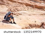 photographer takes pictures... | Shutterstock . vector #1352149970