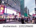 tsim sha tsui  hong kong   07... | Shutterstock . vector #1352198600