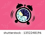 the circadian rhythms are... | Shutterstock .eps vector #1352248196