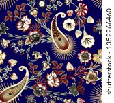 seamless pattern with... | Shutterstock .eps vector #1352266460
