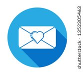 envelope with heart icon....