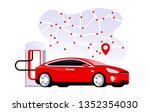 supercharger  station with...   Shutterstock .eps vector #1352354030