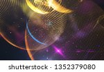 spectacular colored... | Shutterstock . vector #1352379080