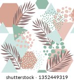 abstract drawing in... | Shutterstock .eps vector #1352449319