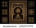 cut out paper decoration for... | Shutterstock .eps vector #1352473799
