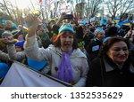 kyiv  ukraine  march 24  2019 ... | Shutterstock . vector #1352535629