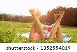 close up sun flare ... | Shutterstock . vector #1352554019