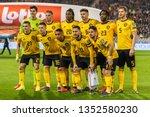 brussels  belgium   march 20 ...   Shutterstock . vector #1352580230