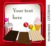 sweets | Shutterstock .eps vector #135258446