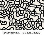 vector seamless pattern. modern ... | Shutterstock .eps vector #1352605229