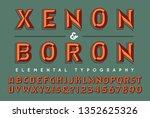 a two toned alphabet design...   Shutterstock .eps vector #1352625326